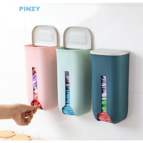 Foto Produk Kotak Dispenser Plastik Besar - Tempat Penyimpanan Kantong Plastik dari PINZY Official Store