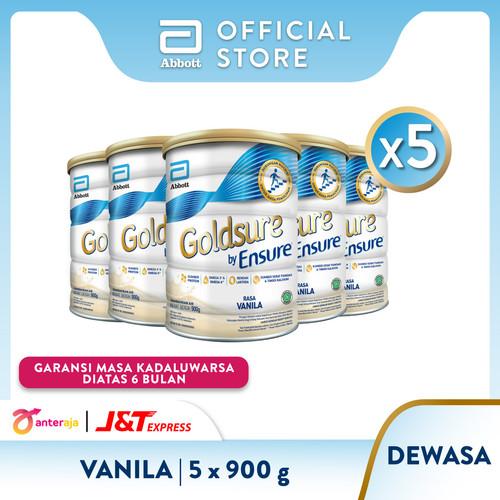 Foto Produk Goldsure Vanila 900 g Susu Nutrisi Dewasa - 5 klg dari Abbott Official Store