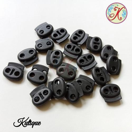 Foto Produk Stopper tali masker tas 2 lubang dari Kutique Craft