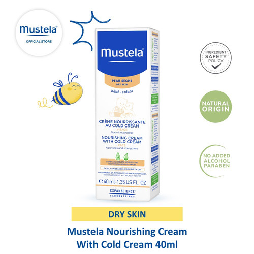 Foto Produk Mustela Nourishing cream with cold cream 40 ml dari Mustela Indonesia