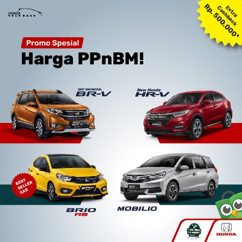 Foto Produk PROMO PPN BM Extra Cashback E-money dari Honda Solo Baru