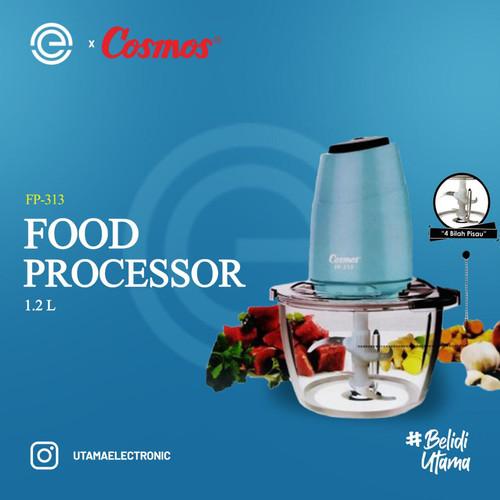 Foto Produk COSMOS Food Processor 1.2 Liter - FP-313 - TOSCA dari UTAMA_ELECTRONIC
