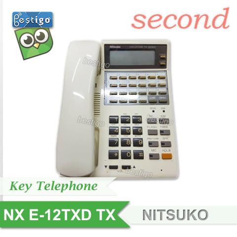 Foto Produk Telepon Nitsuko NX E-12TXD TX dari BESTIGO PABX TELEPON