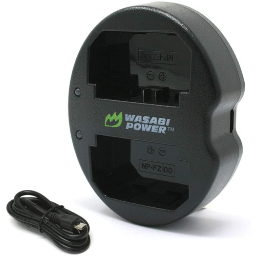 Foto Produk Wasabi Power Charger for Sony NP-FZ100, BC-QZ1, a9, a7R III, a7 III dari Wasabi Power Indonesia