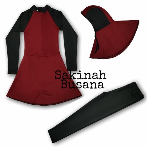 Foto Produk baju renang perempuan muslimah remaja baju renang dewasa dari sakinahbusana