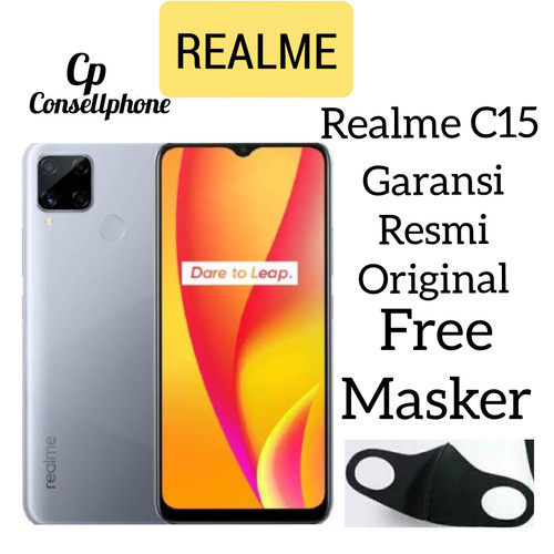 Foto Produk Realme C15 4/64 Garansi Resmi dari consell phone
