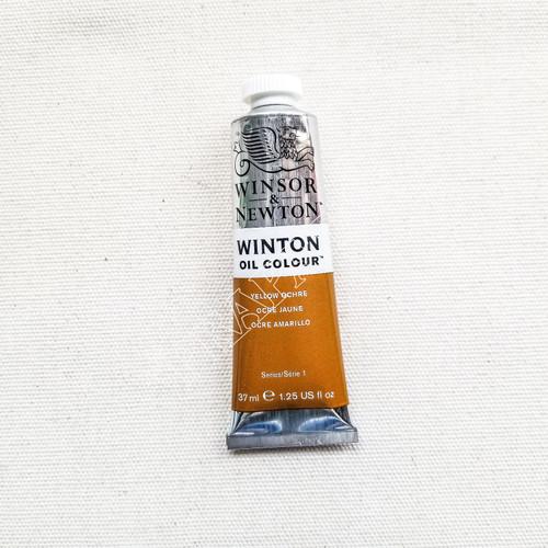 Foto Produk WINSOR & NEWTON OIL COLOR 37 ML - Yellow Ochre dari Toko Prapatan-alat lukis