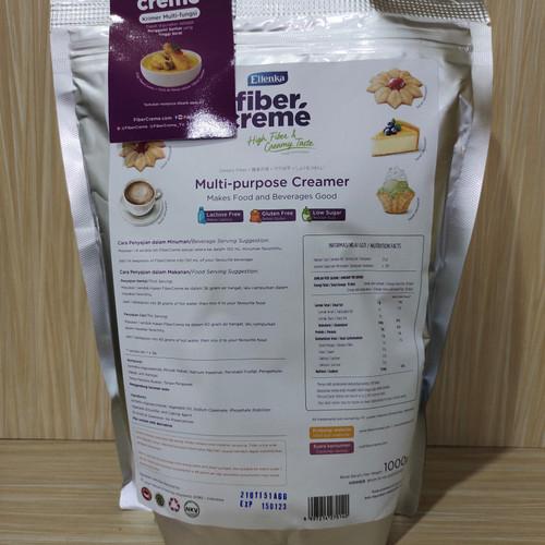 Foto Produk Fiber creme kemasan 1 kg (pengganti santan dan susu) dari Lady Shirt