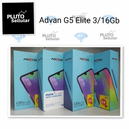 Foto Produk Advan G5 Elite 3/16Gb - Grs resmi Advan - Hitam dari Pluto sellular