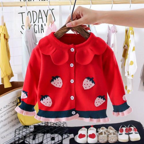 Foto Produk jaket sweater bayi perempuan / baby sweater dari Loui Queen