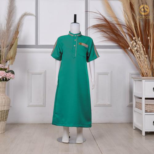 Foto Produk Jubah Anak Usia 2-14 tahun / Baju Muslim Anak Farrasi - Toska, 2 dari tokomuslim.co.id