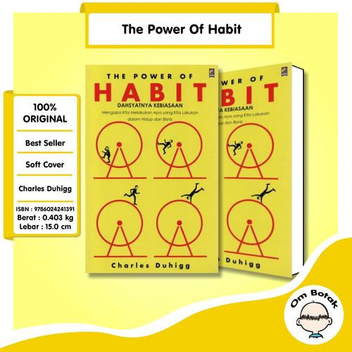 Foto Produk BARU Buku The Power of Habit .Charles Duhigg dari Om Botak
