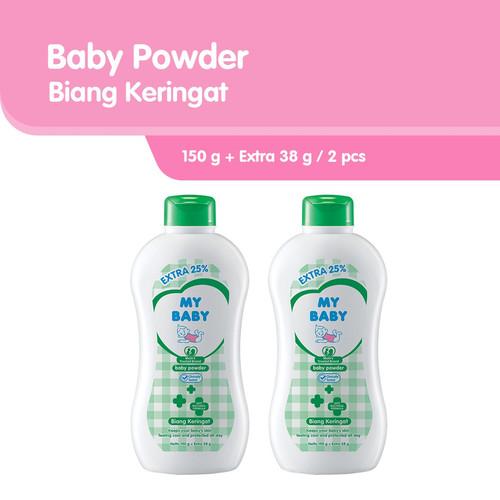 Foto Produk My Baby Powder Biang Keringat Bedak Bayi [150 g/Extra Fill 38 g] / 2pc dari Tempo Store Official