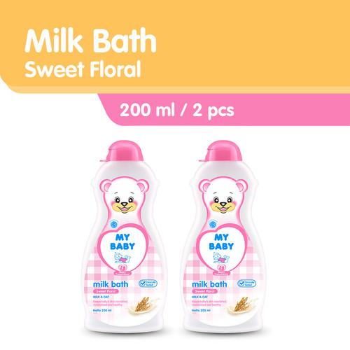Foto Produk My Baby Milk Bath Sabun Bayi [200 mL] - Sweet Floral (Pink) / 2pcs dari Tempo Store Official