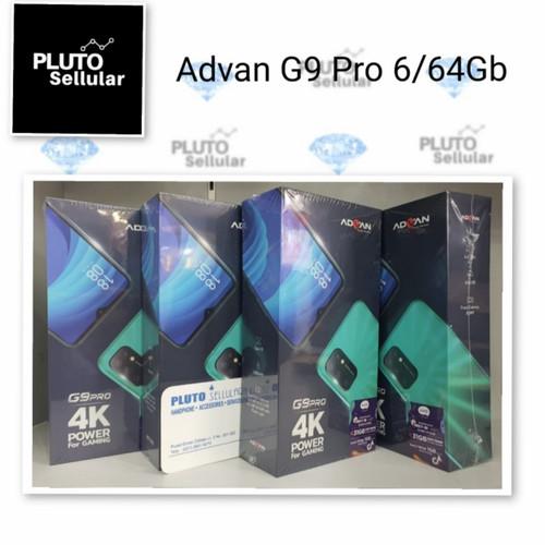Foto Produk Advan G9 Pro 6/64Gb - Grs resmi Advan - Hijau dari Pluto sellular