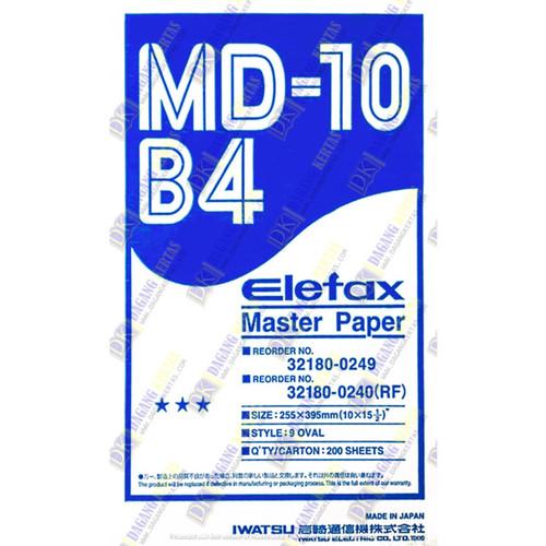 Foto Produk Master Paper Elefax / Kertas Master Elefax MD-10 ukuran B4 dari dctylles