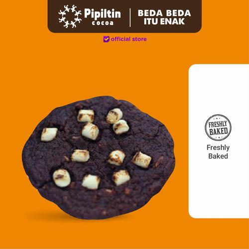 Foto Produk Pipiltin Cocoa Baked Chocolate - Chocolate Marshmallow Dark Cookie dari Pipiltin Cocoa