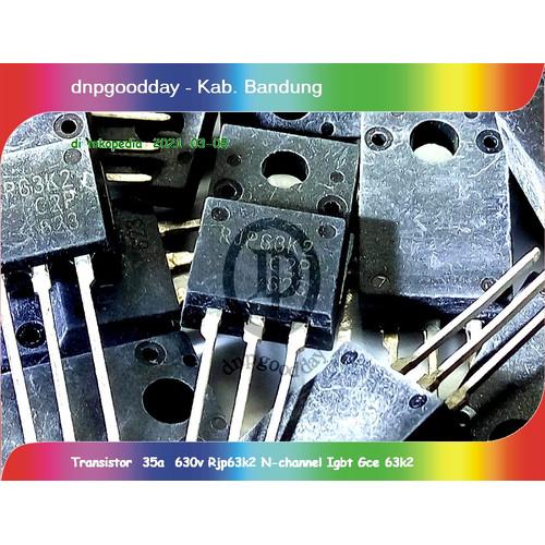 Foto Produk Transistor 35a 630v Rjp63k2 N Channel Igbt Gce 63k2 dari dnpgoodday