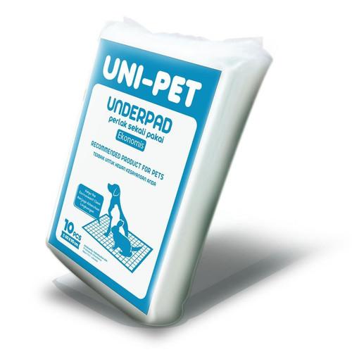 Foto Produk Uni Pet Underpad 10pcs Perlak Pee Pad Training Popok Anjing Serap Air dari Hime petshop