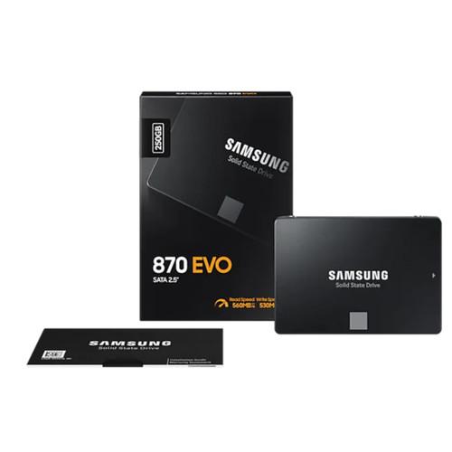 "Foto Produk SAMSUNG SSD 870 EVO 250GB / 2.5"" SATA / 870 EVO SSD / 5 years warranty dari @Kiosk"