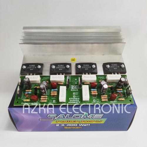 Foto Produk Kit Power Amplifier Sanken 2X400W dari Azka Electric