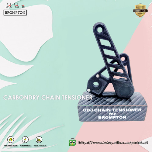 Foto Produk Chain Tensioner Carbon CDJ CarbonDry Japan For Brompton dari Parts Tool