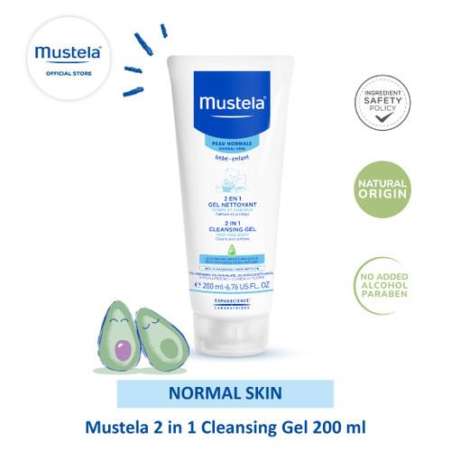 Foto Produk Mustela bebe 2 in 1 Cleansing gel 200 ml dari Mustela Indonesia