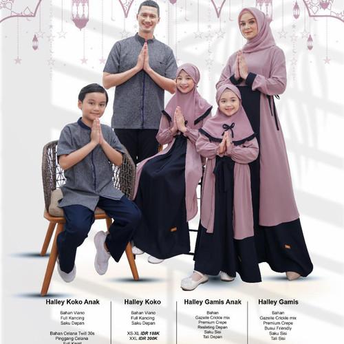 Foto Produk SARIMBIT HALLEY NIBRAS edisi lebaran tahun 2021 - Lilac, Bpk XS S M L XL dari toko inayya
