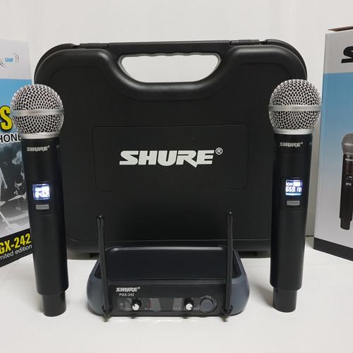 Foto Produk Mic wireless shure PGX 242 ( Handheld ) dari Sinar Sakti