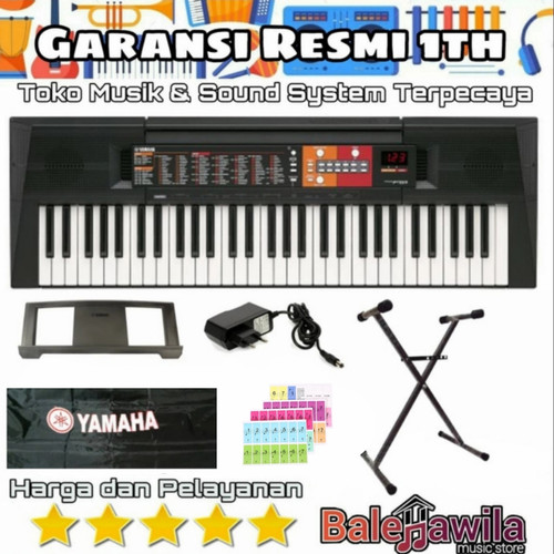Foto Produk Paket keyboard YAMAHA PSR F51 PSRF51 PSRF 51 PSR F 51 Bonus STAND X dari TIPTOP MUSIK&SOUNDSYSTEM