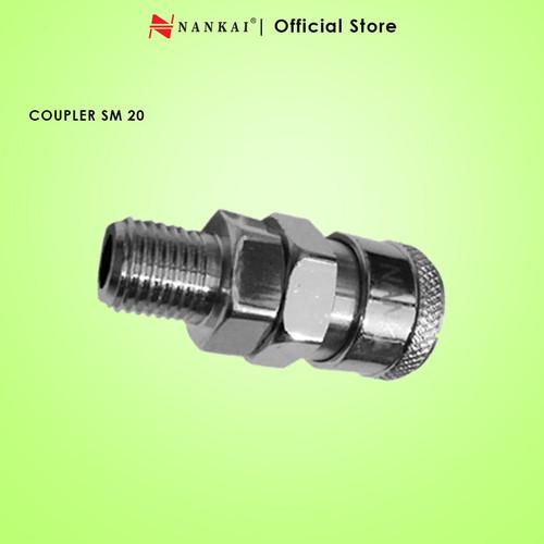 Foto Produk Coupler / Sambungan Selang Kompresor SM 20 Nankai dari Nankai Tools