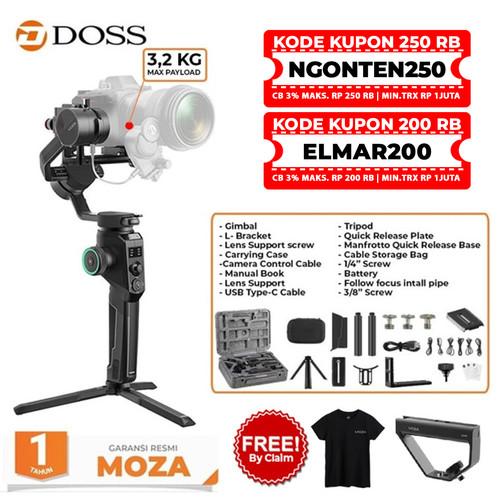 Foto Produk MOZA Air Cross 2 - 3 Axis Gimbal Stabilizer / Moza AirCross 2 dari DOSS