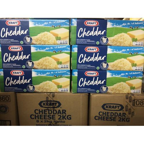 Foto Produk Keju kraft cheddar kemasan 2kg dari In and In Shop