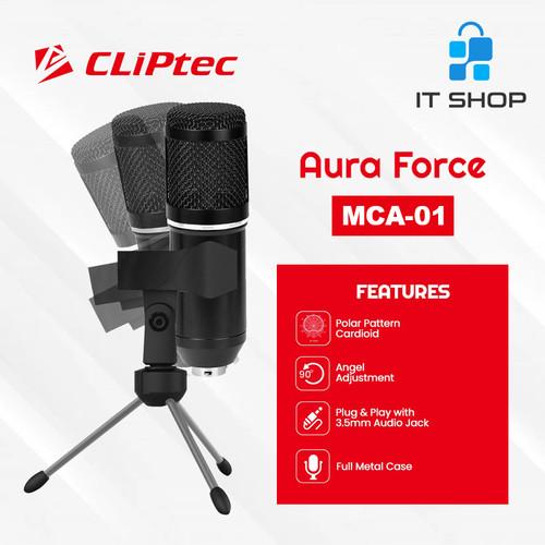Foto Produk Cliptec Microphone Pod Casting Aura Force MCA-01 dari IT-SHOP-ONLINE