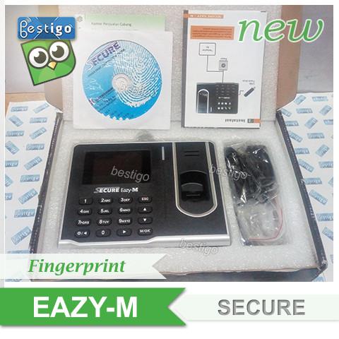 Foto Produk Fingerprint Mesin Absensi Sidik Jari Secure Eazy-M dari BESTIGO PABX TELEPON
