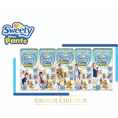 Foto Produk Sweety Silver Pants S32, M34, L28, XL26 - S dari Grosir Cibubur