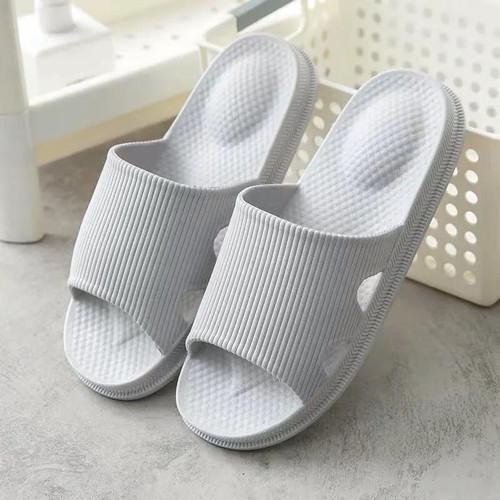 Foto Produk Sandal Rumah Santai Outdoor Indoor nyaman Polos empuk nyaman EVA Soft - Putih, 36 - 37 dari H8 Enterprise
