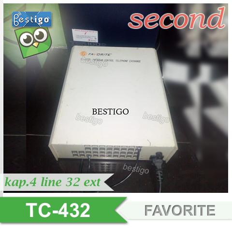 Foto Produk Pabx FAVORITE 32 Extension TC-432 kapasitas 4 Line 32 Extension dari BESTIGO PABX TELEPON