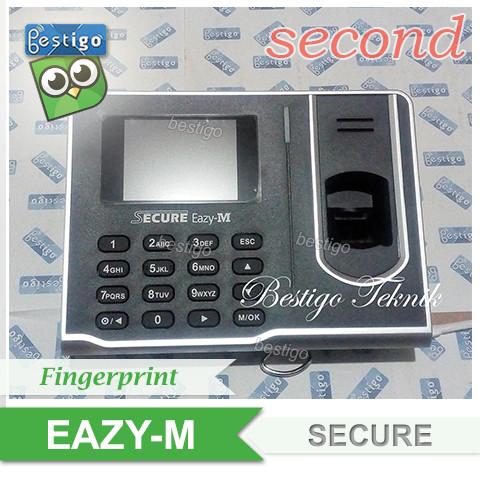 Foto Produk Mesin Absensi Sidik Jari Fingerprint Secure Eazy-M dari BESTIGO PABX TELEPON
