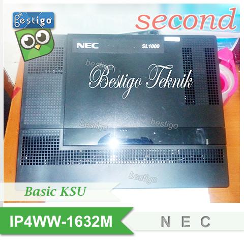 Foto Produk Pabx NEC SL1000 Basic IP4WW-1632M-A KSU dari BESTIGO PABX TELEPON