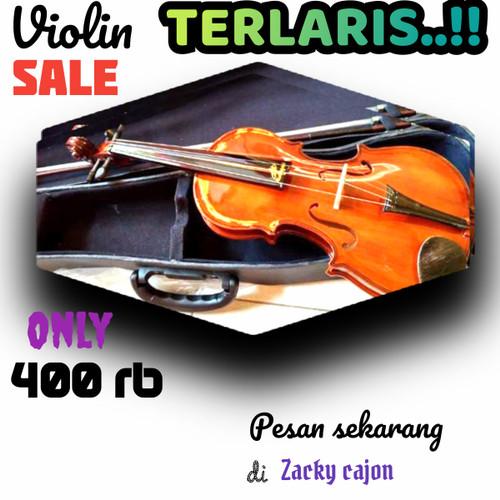 Foto Produk biola/violin coklat klasik dari zacky cajon