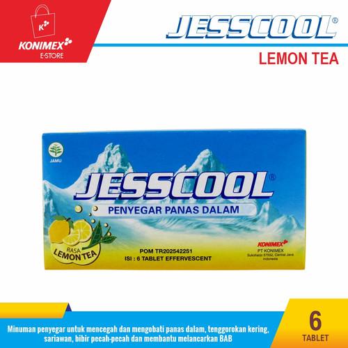 Foto Produk JESSCOOL LEMON TEA Penyegar Panas Dalam Doos isi 6 Beneran Bikin COOL dari Konimex Store
