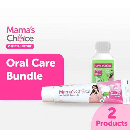 Foto Produk Paket Pasta Gigi & Mouthwash khusus ibu hamil & menyusui Mamas Choice dari MamasChoiceID