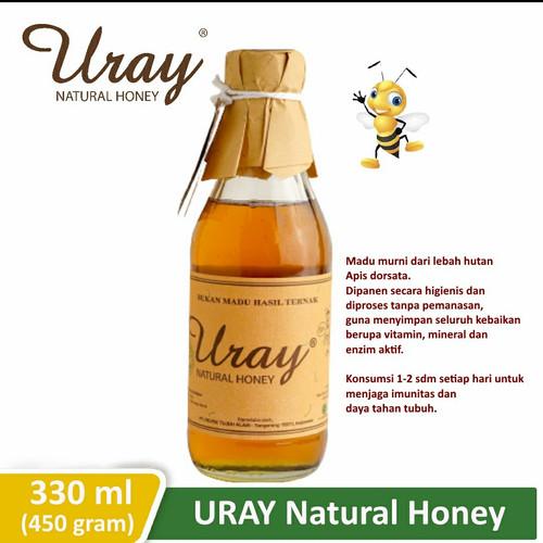 Foto Produk Madu Uray - Natural Honey (330 ml / 450 gram) dari HarvestFarm_Shop