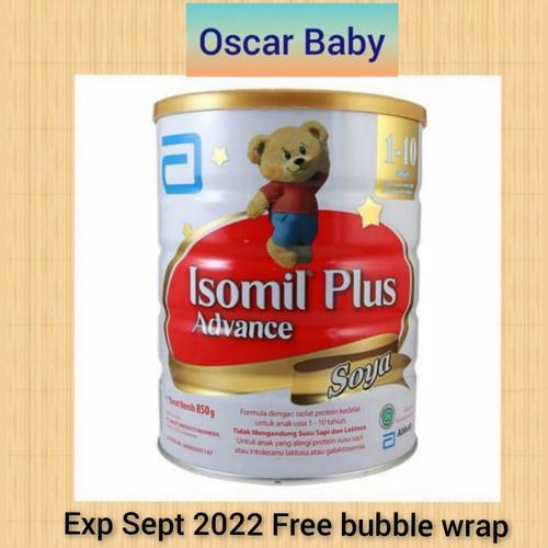 Foto Produk Isomil Plus Advance Soya 1-10 tahun 850 gr no dari Oscar Baby