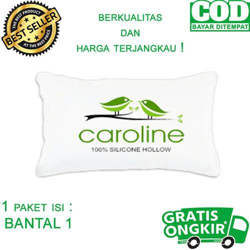 Foto Produk Bantal tidur hotel murah 100 % high quality silicone fiber hollow - Bantal dari caroline bedding