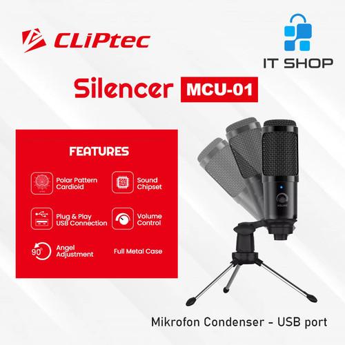 Foto Produk Cliptec Microphone Pod Casting Silencer MCU-01 dari IT-SHOP-ONLINE