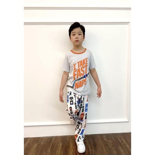 Foto Produk Piyama Anak Short Shirts I Take Fast Naps SSLP44 - 4 dari Boboo Kids