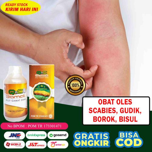 Foto Produk Obat Scabies, Gatal Kulit, Borok, Bisulan, Gudik, Jelly Gamat Original dari Dijeksi Herbal