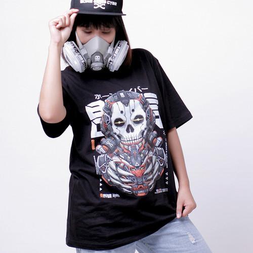 Foto Produk Bonecybr SKULICON: Unisex T-shirt_Hitam - S dari BONECYBR Official